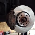 vauxhall astra front wheel brake discs
