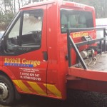 winch pulley breakdown recovery vehicle